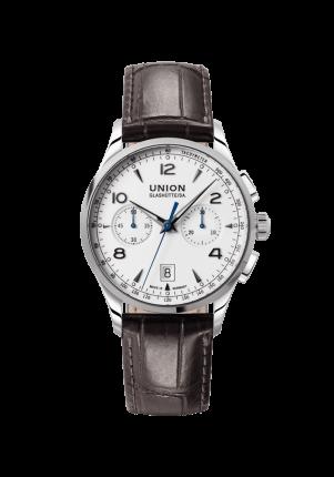Union Glashütte, Noramis Chronograph, D0084271601700, Edelstahl