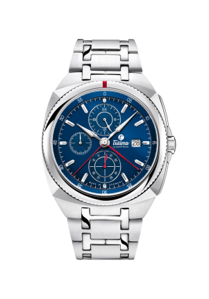 Tutima, Saxon One, Chronograph Royal Blue, 6420-05