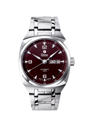 Tutima, Saxon One, M Automatic Maroon Brown, 6121-01