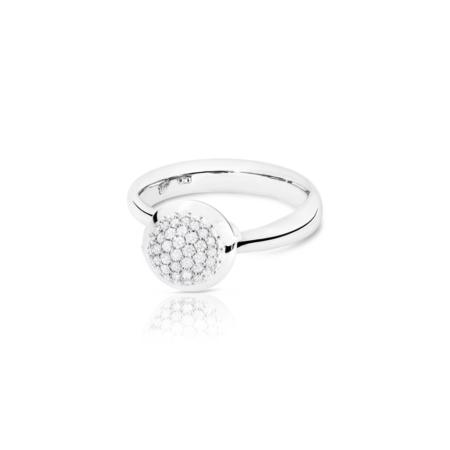 Bouton Small Diamant Pavé