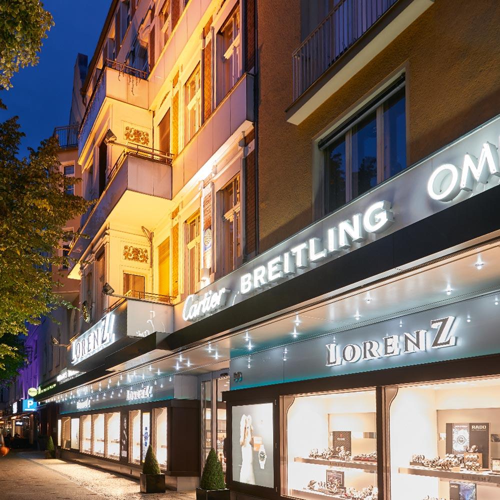 Juwelier Lorenz: geänderte Öffnungszeiten in der Vorweihnachtszeit