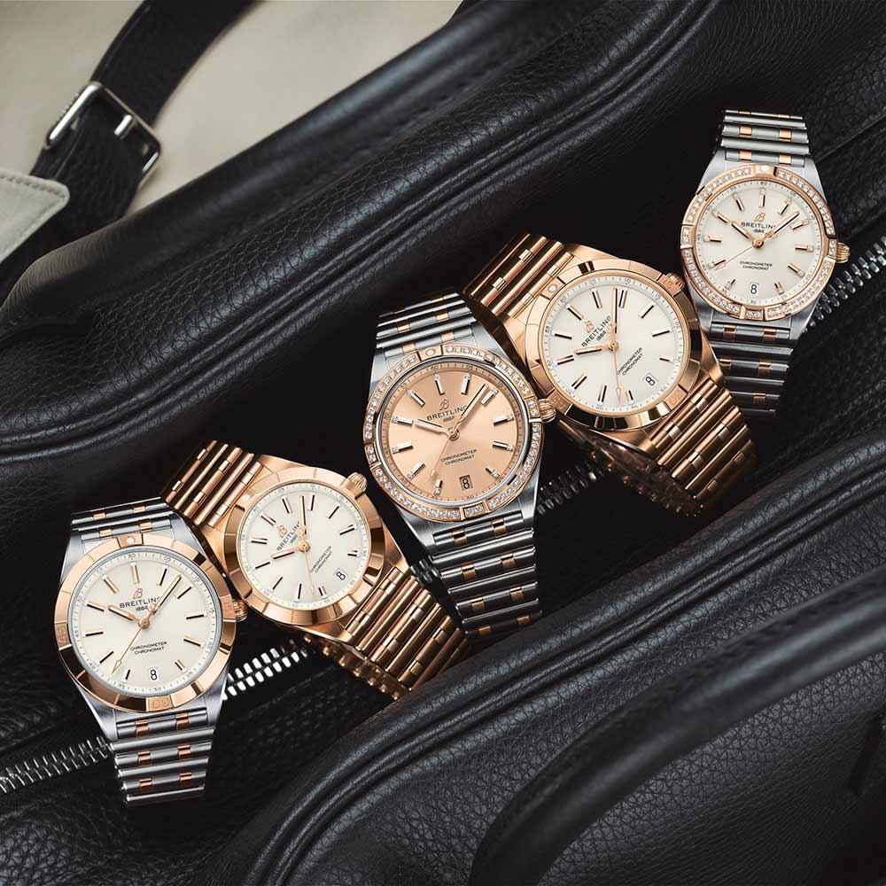 Die neuen Modelle der Breitling Chronomat für Frauen